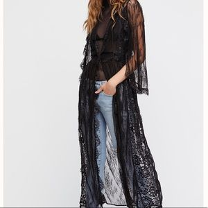 NWT Intimately Free People Chelsea Lace Robe